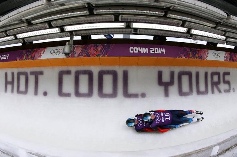 Even Sochi's Winter Olympics has a weird, badly-translated slogan of its own.