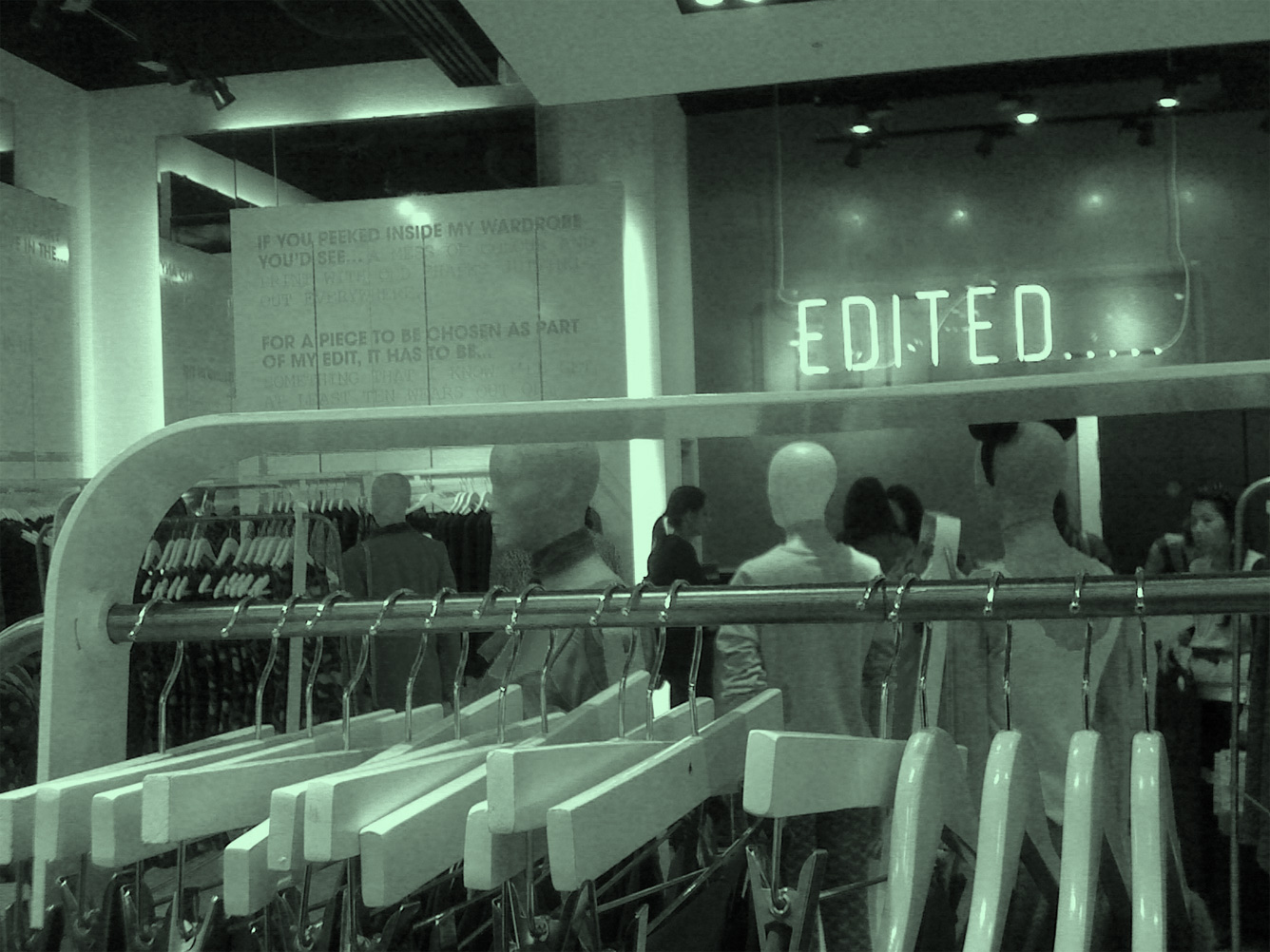 Edited... a hand picked selection of pieces by Topshop\'s Head of Design in Oxford Street, this summer...