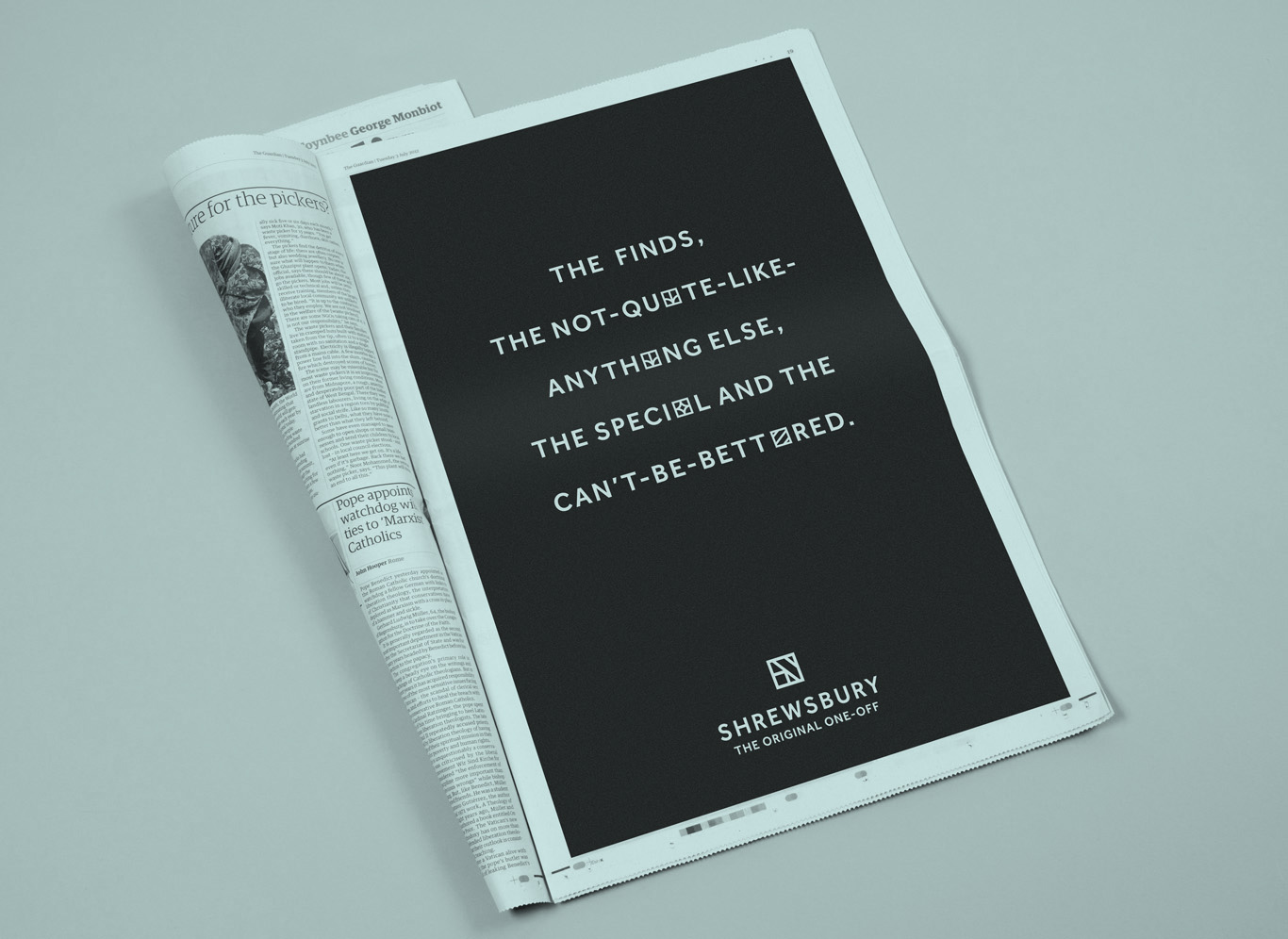 newpaper-ad_bw