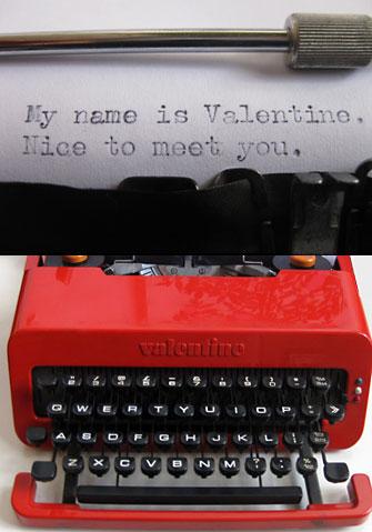 Olivetti Velentine