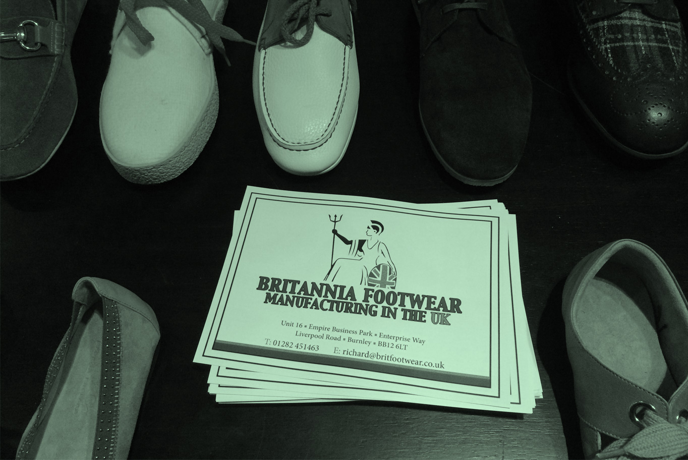 Britannia rules footwear again?