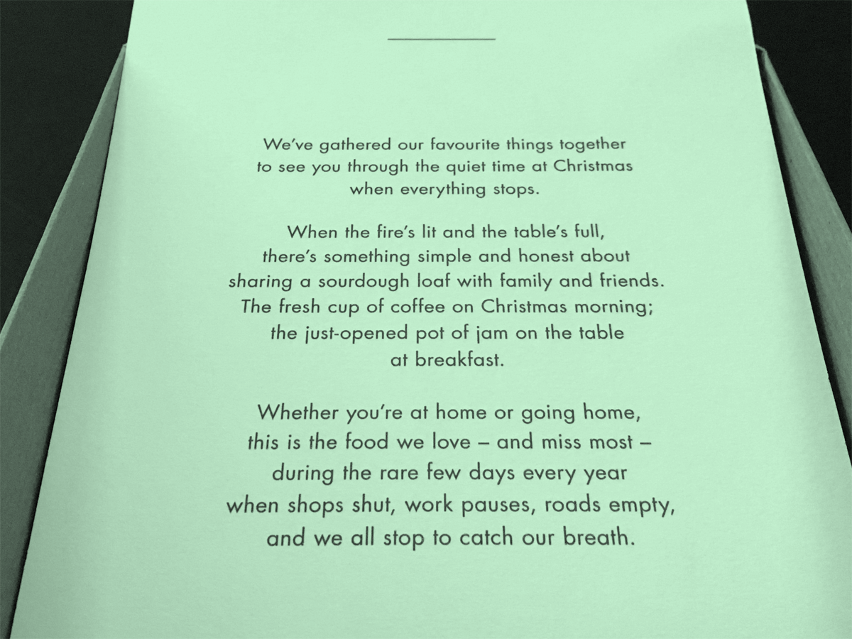 That is, if you're not staying at the Ace Hotel on Christmas Day.