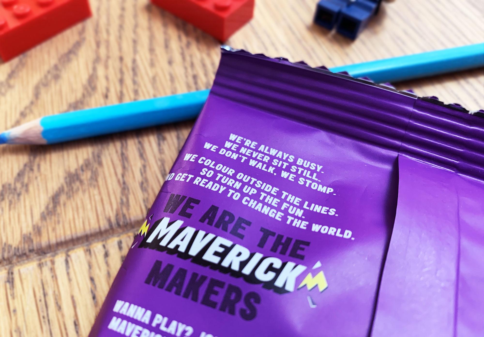 Mavericks Snacks tone of voice