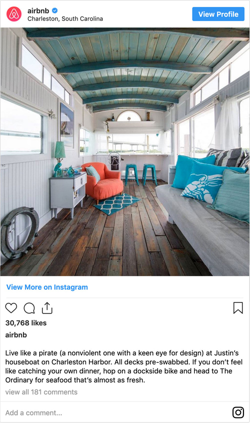 How Airbnb do content marketing.