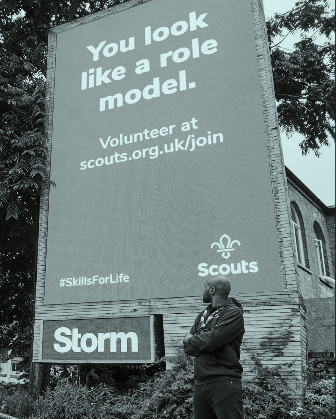 Scouts tone of voice: you look like a role model
