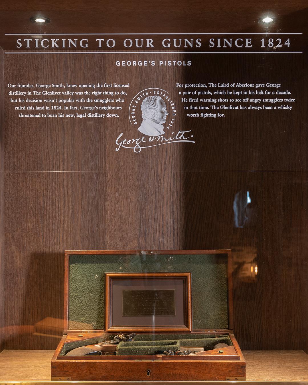 George Smith's pistols